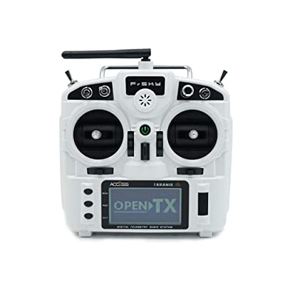 Frsky Taranis X9 Lite 2.4G 24 Channels Radio Transmitter w/Access Protocol (White): Toys & Games