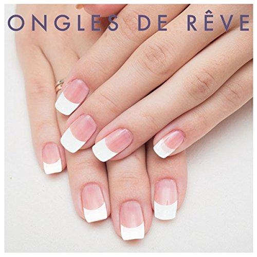 Uñas Postizas con pegamento - French transparente - N ° 1 - Miss Miss: Amazon.es: Belleza