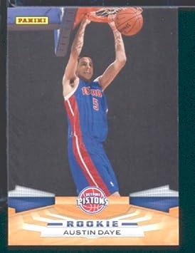 Panini 2009/10 NBA tarjeta de baloncesto #315 Austin Day Detroit ...