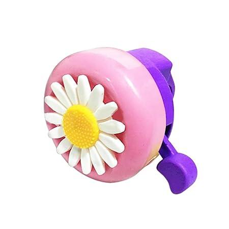 Kids Bicycle Bell Bike Daisy Flower Children Girls Cycling Ring Alarm Air Horns