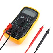 Handheld XL830L LCD Digital Voltmeter Ohmmeter Ammeter OHM Avometer Multimeter Measurement Current Voltage Resistance Transistor Temperature Tester Meter Multim
