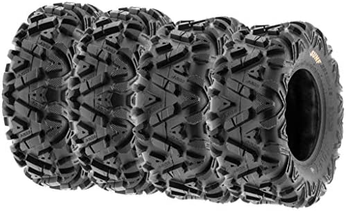 Set 4 WANDA ATV//UTV Tires 24x8-12 24x8x12 /& 24x10-11 24x10x11 Bighorn Style