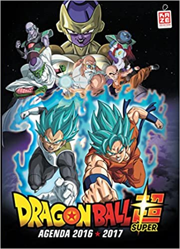 Agenda Dragon Ball Super: 9782820324658: Amazon.com: Books