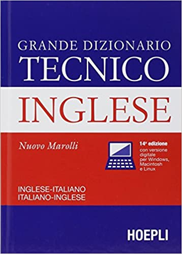 English italian/ italian english technical dictionary dizonarion.