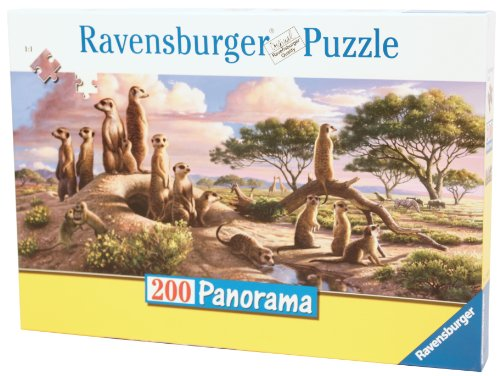 Ravensburger Adorable Meerkats - 200 Piece Panorama Puzzle