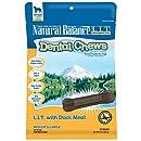 Natural Balance Dental Chews L.I.T. Limited Ingredient Treats Duck Meal Formula, Medium Dog Treats, 13-Ounce