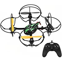 TheeFun Mini RC Helicopter Drone 2.4Ghz 6-Axis Gyro 4 Channels Headless Quadcopter Good Choice for Drone Training