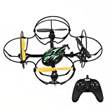 Image of RC Quadcopter - TheeFun TX4 6 Axis 2 Speed 2.4GHz RC Quadcopter Helicopters with Protective Circle,Remote Control Quadcopter Drone for Indoor & Outdoor Use, Black