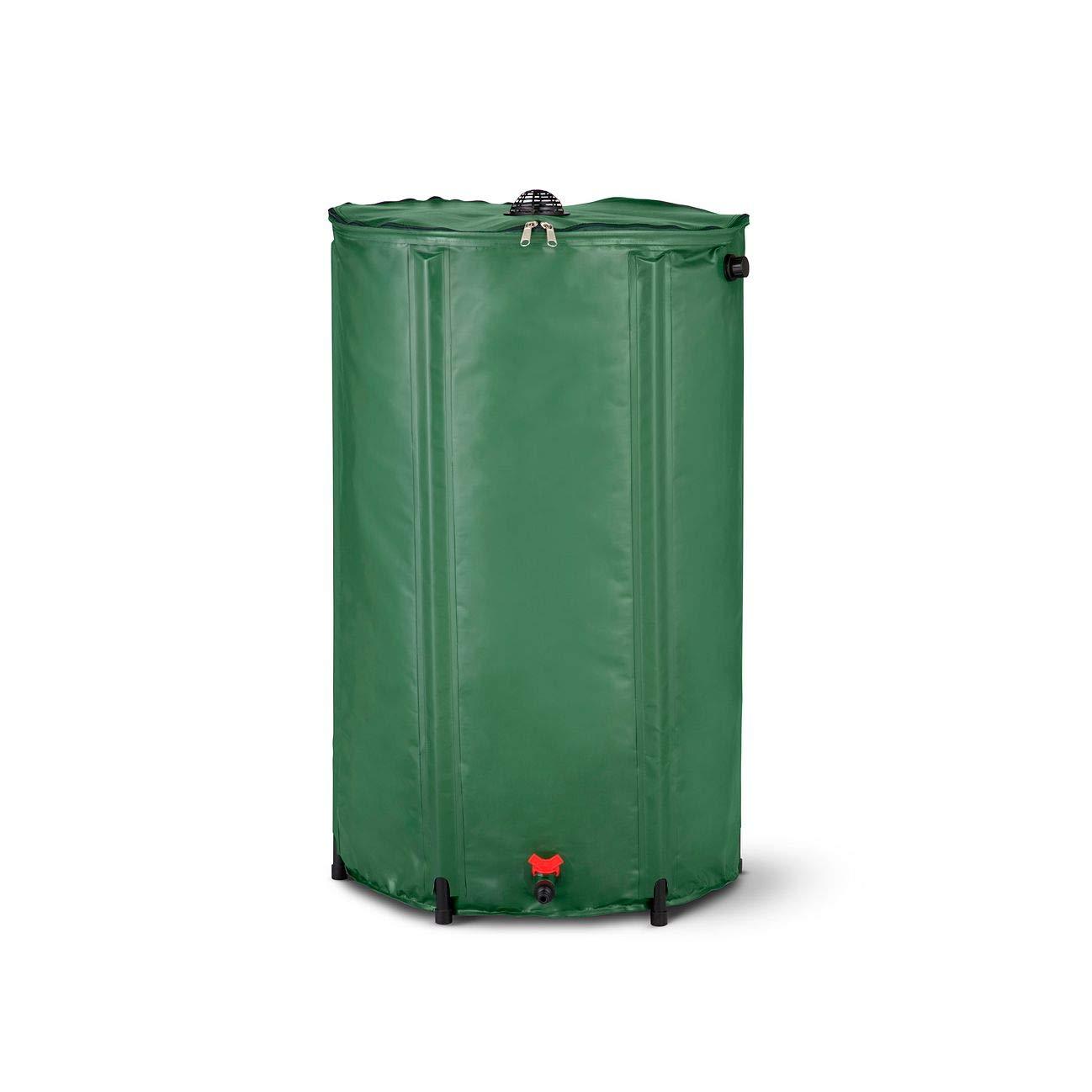 HSN Collapsible Rain Barrel Water Storage - 74 Gallon
