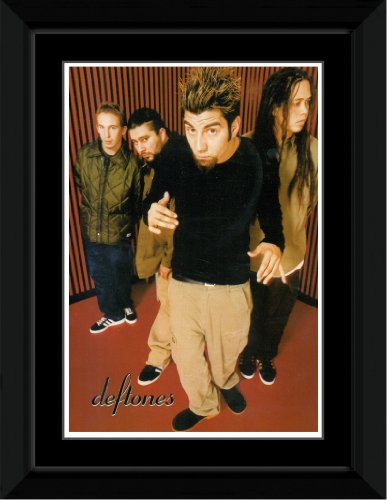 Stick It On Your Wall Deftones - Band Framed Mini Poster - 14.4x9.2cm