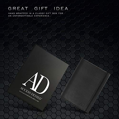 Accessed Denied Genuine Leather Wallet