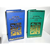 One Green/One Blue Elongated Souvenir Penny Book W/ 2 Free Pressed Pennies!