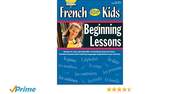 French for Kids, Beginning Lessons, Resource Book (French Edition ...