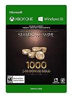 Middle-Earth: Shadow of War – 1000 (+50 Bonus) Gold - Xbox One [Digital Code]