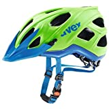Uvex 2017 Stivo CC Bicycle Helmet – S41079 (green-cyan – 56-61) Review
