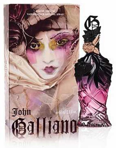 JOHN GALLIANO Eau De Parfum Spray for Women, 2 Ounce Backstage Beauty Box