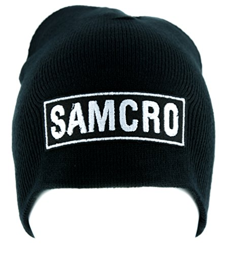 SAMCRO Sons of Anarchy Motorcycle Club Redwood Original Beanie Knit Cap