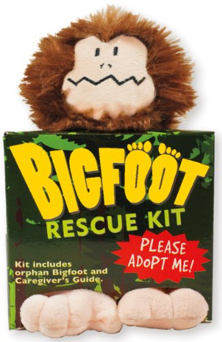 Bigfoot Rescue Kit (Plush Toy and Book)