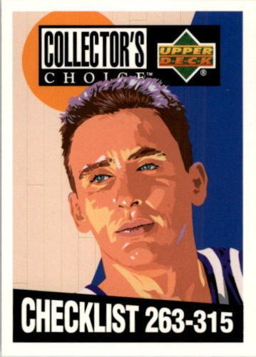1994-95 UD Collector's Choice #418 Checklist (CL) - Bobby Hurley - Rookie - Duke Blue Devils