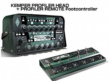 amazon kemper power head remote プロファイリングアンプ フット