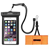 Best Galaxy Note 4 Waterproof Cases - Pawtec Universal Waterproof Case / Outdoor Pouch, Dual Review