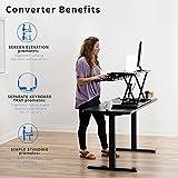 VIVO Standing 32 inch Desk Converter, Height