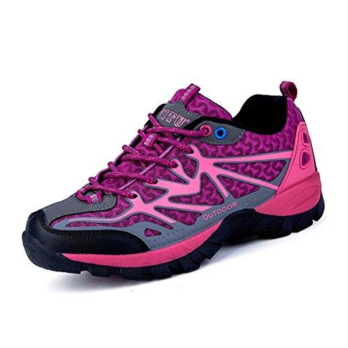 para Aire Camping Viajes Alpinismo al Spring Fall de Libre Escalada Mesh Zapatos Comfort Mujer Trekking el Informal Sneakers Do 1g6n7
