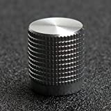 ELEDIY Solid Machined Metal Amplifier Knob Electric Guitar Knob (Pack of 4)