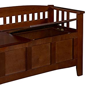 Linon Hunter Storage Bench by Linon Home Decor Products Inc
