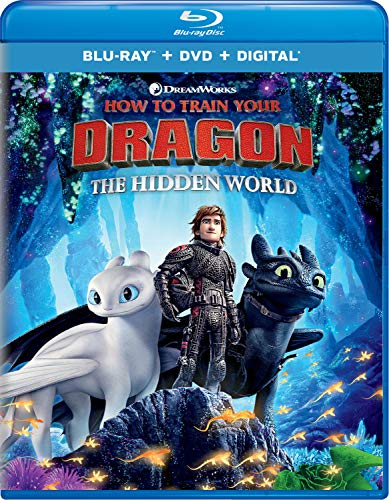 Train Animated - How to Train Your Dragon: The Hidden World [Blu-ray]