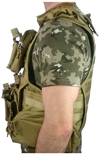 Oslotex Simple M4//G36 Pouch de Airsoft Unisex Adulto Talla /Única Coyote