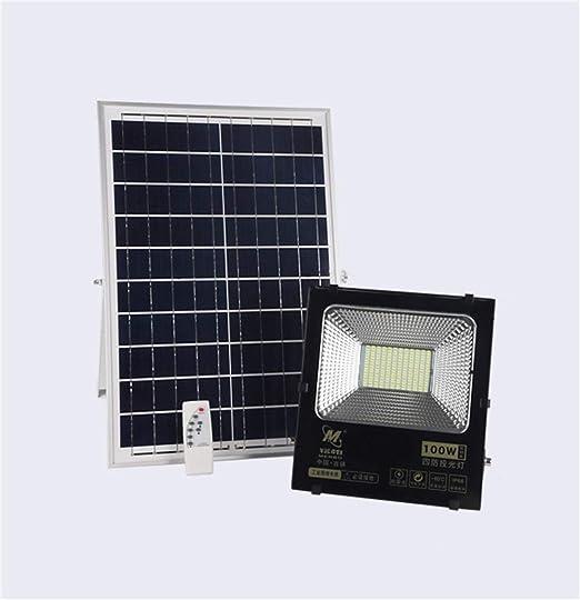 H-XH Solar Foco Proyector LED,Jardín Al Aire Libre Luz De ...