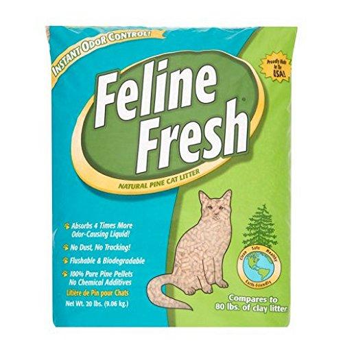 Feline Fresh Natural Pine Cat Litter, 20 Lbs - 1 Pack