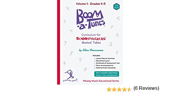 Boomwhackers Boom-a-Tunes Curriculum, Volume 1 (Book/CD): Varies ...