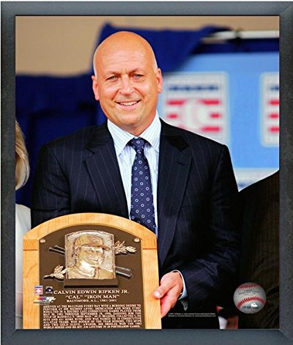 Cal Ripken Jr. Baltimore Orioles MLB Hall of Fame Induction Photo (Size: 12