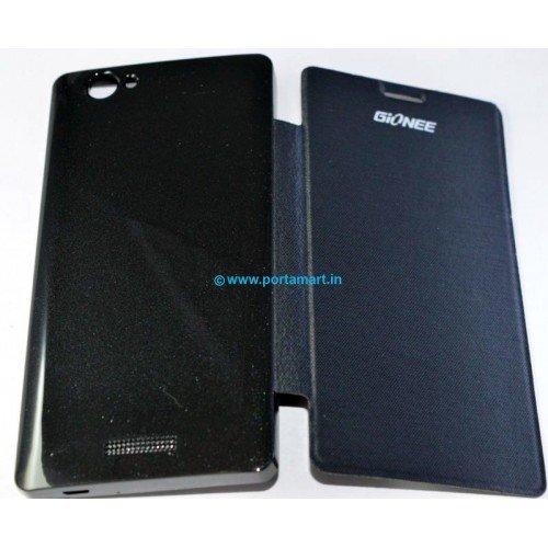 size 40 f8e58 1179c Flip Cover Case for Gionee M2 (Black)