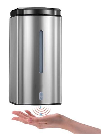 Acero inoxidable 304,Dispensador de jabón automático sensor,Montaje en pared ,Ducha de