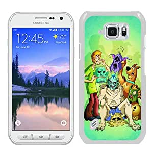 S6 Active Case,Scooby-Doo 2 White Abstract Customized Samsung Galaxy S6 Active Case
