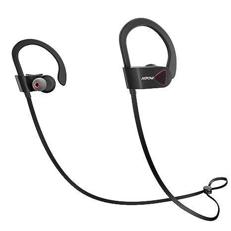 337fac9cc88 Mpow D8 Bluetooth Headphones, IPX7 Structural Waterproof Wireless Earbuds,  V4.1 Wireless Sport