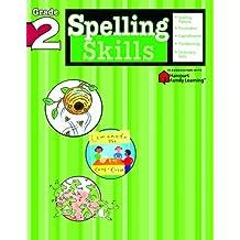 Spelling Skills: Grade 2 (Flash Kids Harcourt Family Learning)