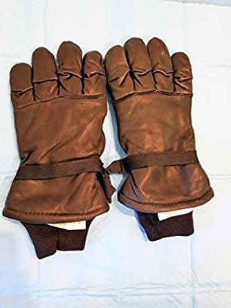 Amazon.com: Leather Gloves, Black. Us Army Issued. Int