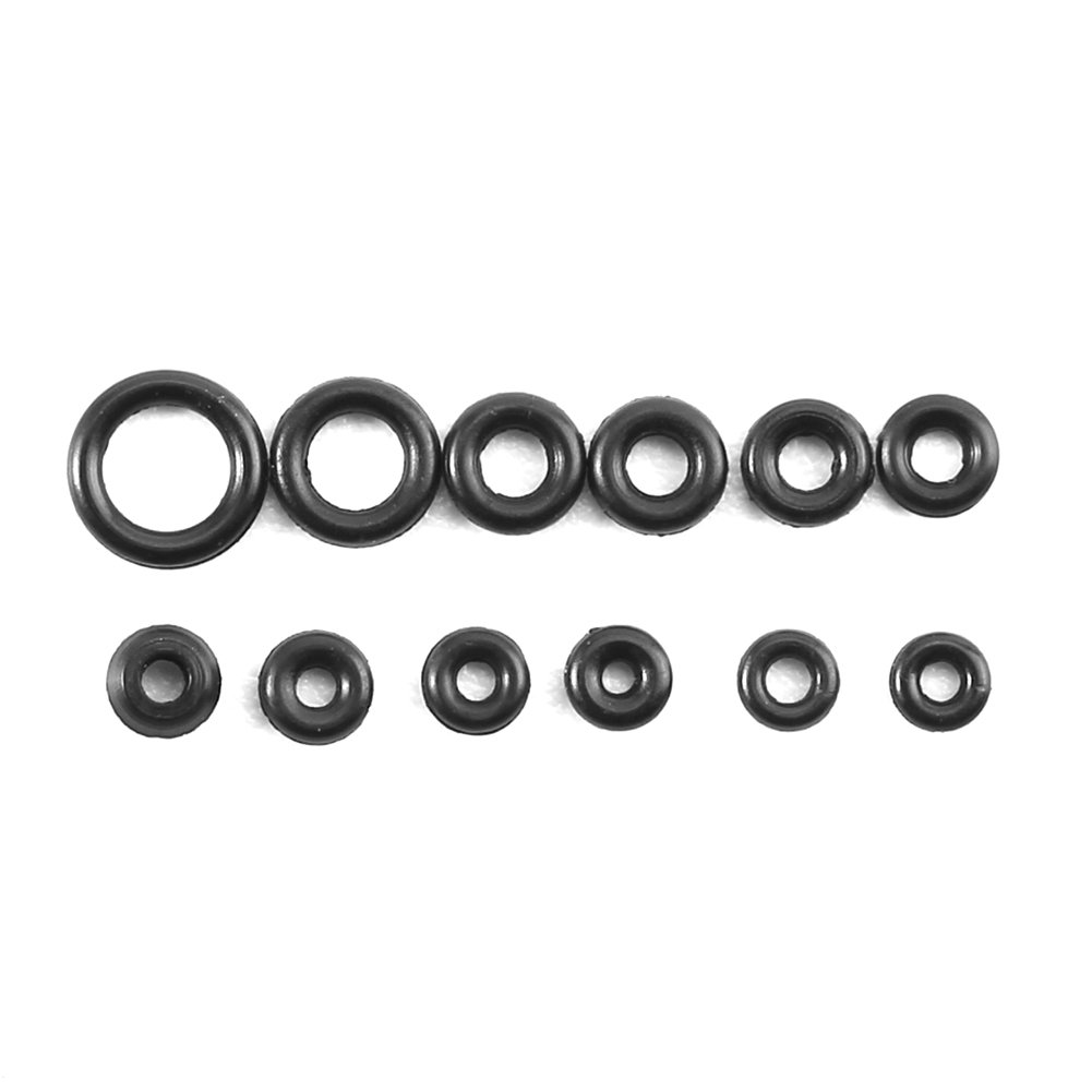 12 Sizes Rubber Rings or 1.4-2.8mm O-Ring Assortment Mechanical Equipment and More Asixx O-Ring Rubber O-Ring Set Good for Repairing Watches