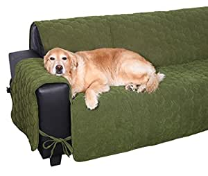 floppy ears design waterproof sit and stay micro suede pet couch protector furniture. Black Bedroom Furniture Sets. Home Design Ideas