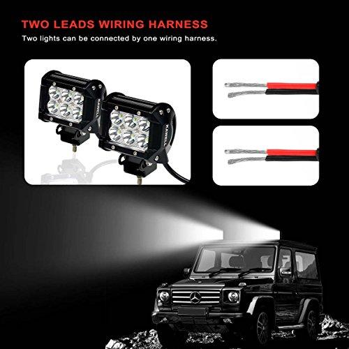 kawell 2 legs off road atv jeep led light bar wiring harness  kawell 2 legs off road atv jeep led light bar wiring harness 40