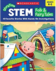 Storytime Stem: Folk Fairy Tales: 10 Favorite Stories with Hands-On Investigations