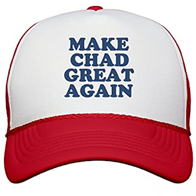 Make Chad Great Again Hat: Snapback Mesh Trucker Hat