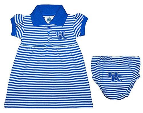 Kentucky Wildcats NCAA Newborn Baby Two Piece Pinstripe Dress (0-3)