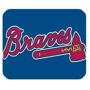 Atlanta Braves Logo Customized Rectangle Mousepad