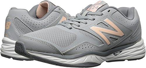 New Balance Women's WX824 Training Shoe, Flint Gray, 8.5 B US For Sale