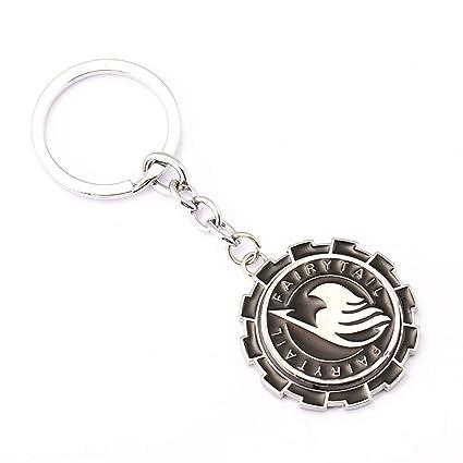 Amazon.com: Value-Smart-Toys - FAIRY TAIL Keychain Rotatable ...
